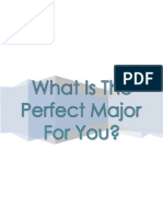 How to Choose the Perfect Major for You (Ran)