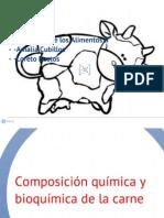 Composición química y bioquímica de la carne. Presentacion loreto Amalia