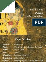Análisis de la obra El beso de Gustav Klimt
