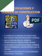 Presentacion Codigos, Cargas Vivas y Muertas