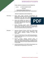 Peraturan Menteri Kominfo No. 28 Tahun 2006 ttg PENGGUNAAN NAMA DOMAIN go.idUNTUK SITUS WEB RESMI PEMERINTAHAN PUSAT DAN DAERAH