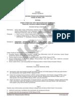 PP RI No. 58 tahun 1999 tentang syarat-syarat dan tata cara pelaksanaan wewenang tugas dan tanggung jawab perawatan tahanan