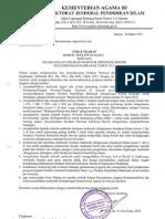Surat Edaran Wakil Presiden RI tentang GNIB
