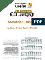 Movilidad Urbana Ecatepec 2013-2015