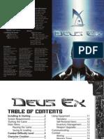 Deus Ex Manual