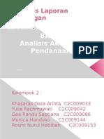 Analisis Aktivitas Pendanaan