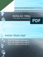 NATAÇÃO 100m