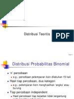 Distribusi Probabilitas Binomial