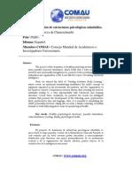 PERU. Martha Leiva. Formacion de Estructuras Piscologicas Saludables
