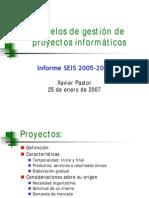 6 - Modelo de gestión de proyectos