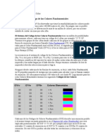 El orden matemático del Color teoria dle color