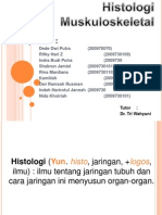 Histologi Kel. 6 muskuloskeletal