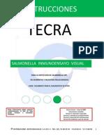 Instructivo de Salmonella Tecra 3m