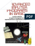 Advanced Computer Programs in Basic
