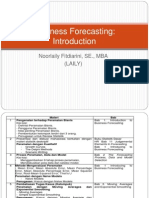 1.Business Forecasting Introduction