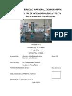 informe n° 3 universidad nacional de ingenieria facultad de ingenieria quimica y textil