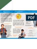 Transitional Kindergarten Brochure English