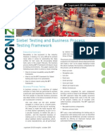 Siebel Testing and Business Process Testing Framework