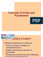 Concepts of Crime and Punishment