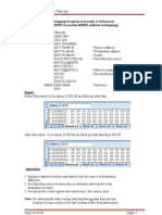 Micro Controller Manual