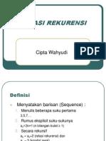 02 - Relasi Rekurensi