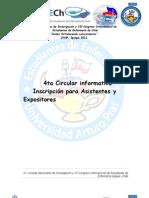 XX Jornadas Nacionales de Investigación y VII Congreso Internacional CIRCULAR 4