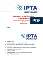 Key Issues for Chemical Tanker
