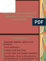 Effects of Globalization on Japanese Food Culture and
