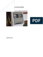 Rfid Based Atm Machine