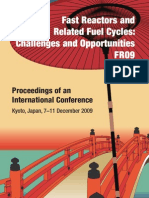 Conference Fast Reactors and Related Fuel Cycles Challenges and Opportunities FR09