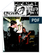 Criminal Behavior Fanzine, Issue #8