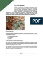 Corrosión y Deterioro de los materiales