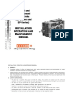 Helical Gear Box Series) Maintanance Manual