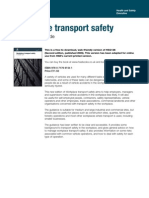 Hsg136 Transport Safety