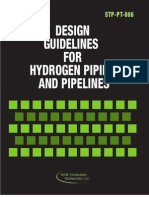 Design Guidline of Hydrogen Pipelines