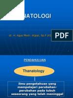 TANATOLOGI