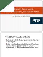 The Financial Environment