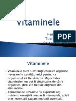 proiect chimie vitaminele