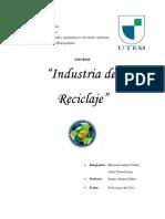 Informe Industria Del Reciclaje