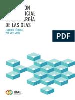 Evaluación del potencial de la energía de las olas(Es)/ Evaluation of the potential of wave energy(Spanish)/ Olatuek sortutako energia potentzialaren eboluzioa(Es)
