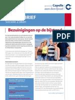 www.SimpelHuishoudboekje.org in de nieuwsbrief Sociale Zaken van Capelle aan den IJssel nummer 22