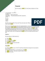 JSON Javascript Tutorial