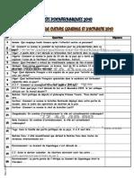 42616569 Culture Generale Et Actualite 2010 PDF