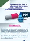 Farmacocinética en estado basal  y