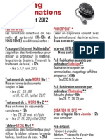 Planning Formation Juin-Aout2012