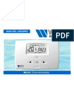 Crono termostato Milux
