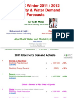 Adwec Winter 2011 2012 Demand Forecast Mar 2012