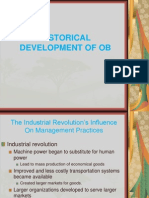 Historical Development of Ob