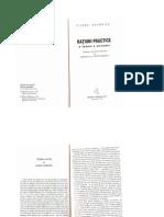 21503422 Bourdieu Pierre Ratiuni Practice O Teorie a Actiunii