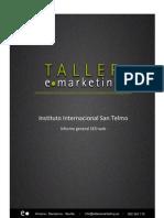 Informe San Telmo Web